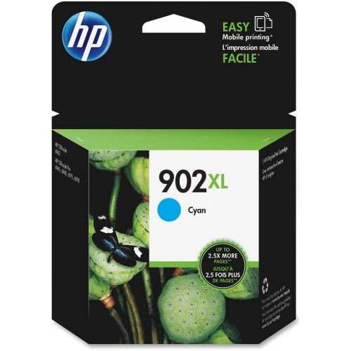HP 902XL High Yield Cyan Original Ink Cartridge (T6M02AN) (Single Pack)