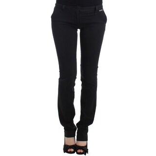 Galliano Black straight leg pants - it40-s