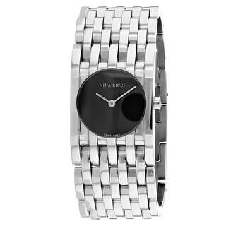 Nina Ricci Women's Classic Grey Dial Watch