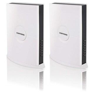 Comtrend 2 Wireless Video Bridges 5GHZ 4X4 Mimo 1750MBPS 2GE Port
