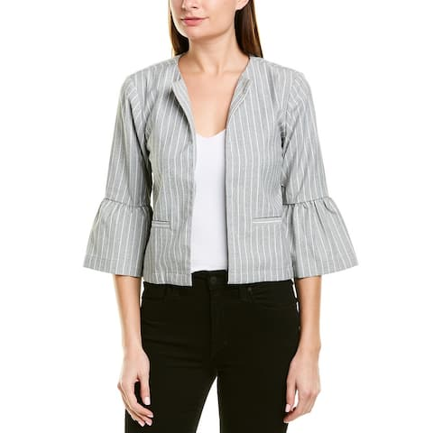 Cupcakes And Cashmere Canyon Jacket - LIGHT HEATHER GREY