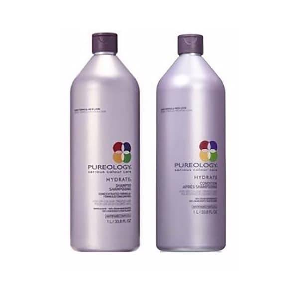 Pureology Hydrate Shampoo & Conditioner Combo Pack 33.8 Oz Combo Pack