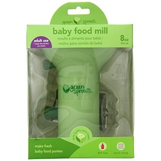 green sprouts Baby Food Mill, Green