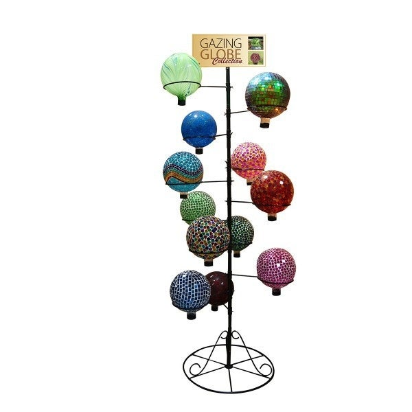 10in D Globe Stand Fits 12 pcs - Thumbnail 0