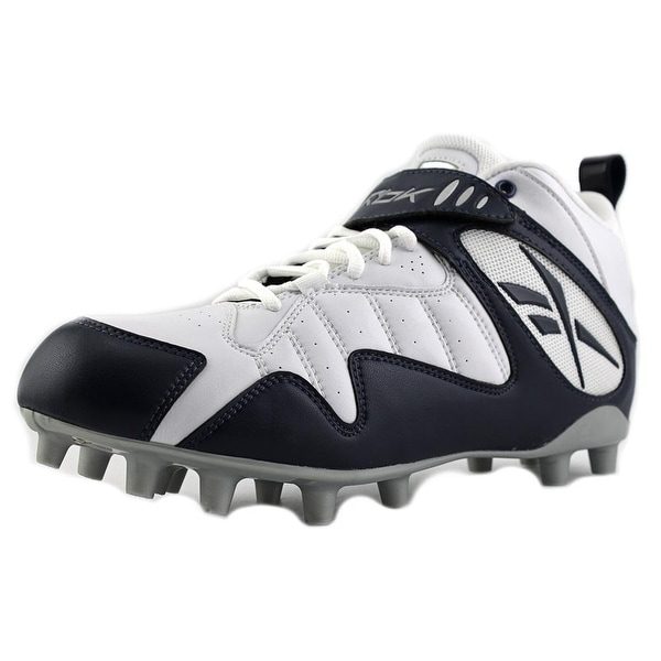 Reebok Pro All Out One Mid Round Toe Synthetic Cleats