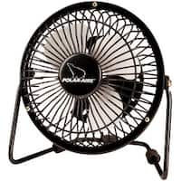 "Polar-Aire VF-4USB High Velocity Floor Fan, 4"", Black"