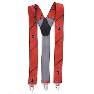 University of Illinois Fighting Illini Suspenders