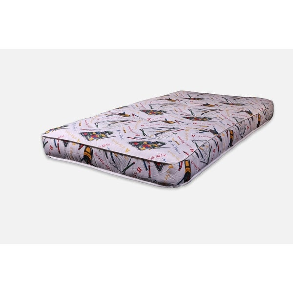 "AJD Home 7.5"" Innerspring Youth Mattress. Opens flyout."