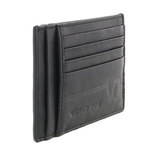 Versace EE3YQBPC4 E899 Black Compact Wallet - 5- 3.5-0.25