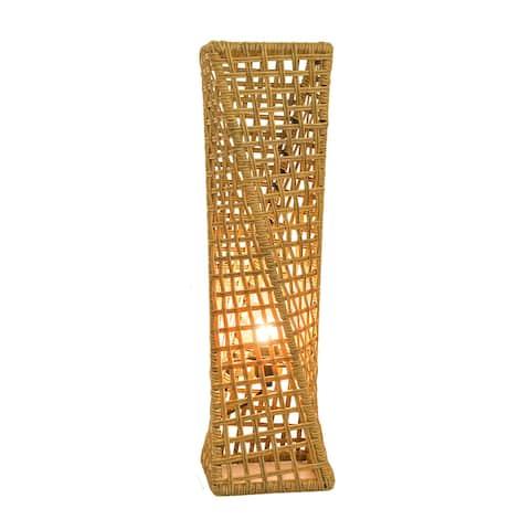 "Phuket 27"" Handcrafted Rattan Table lamp, Artiva USA - 27"