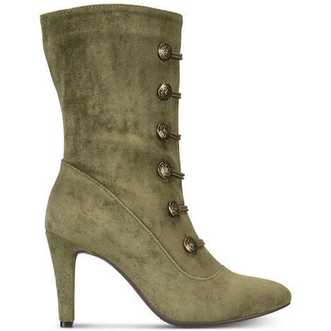 buy women's midcalf boots green boots online at
