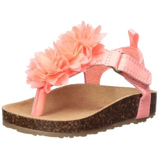 Kids Carter's Girls Bliss 2 Ankle Strap Slide Sandals