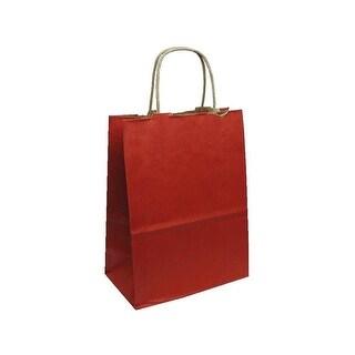 Cindus Gift Bag Kraft Med Red