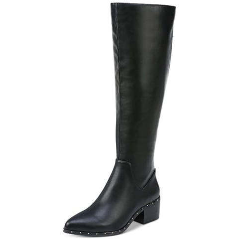 Bar III Womens Gable Pointed Toe Knee High Fashion Boots