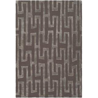 Carson Carrington Marsta Hand Tufted Wool/Viscose Area Rug
