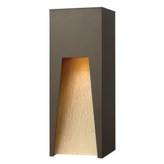 """Hinkley Lighting 1764-LED 16"""" Height Dark Sky LED Outdoor Wall Sconce from the Kube Collection"""