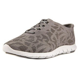 Cole Haan ZeroGrand Perforated Leather Sneakers Women C Gray Fashion Sneakers