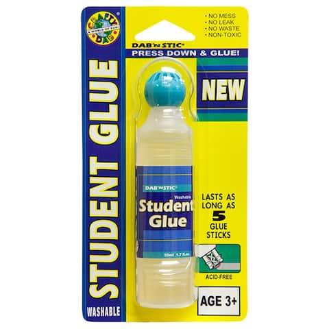 (12 Ea) Crafty Dab Glues Dab N Stic Student