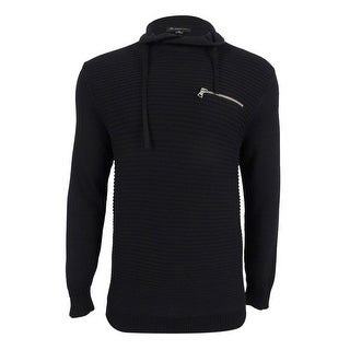 INC International Concepts Men's Textured Funnel-Neck Sweater - M