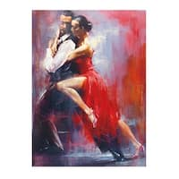 ''Tango Nuevo I'' by Pedro Alvarez Latino Art Print (31.5 x 23.5 in.)