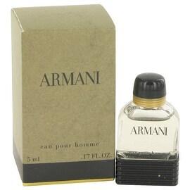 ARMANI by Giorgio Armani Mini EDT .17 oz - Men