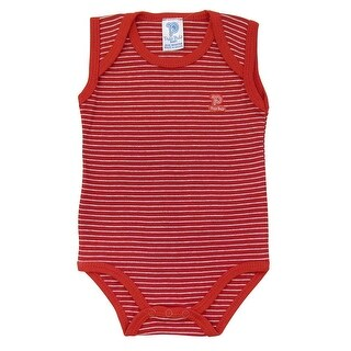 Baby Bodysuit Infant Unisex Sleeveless Striped Pulla Bulla Sizes 0-18 Months (More options available)