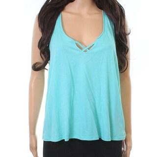 Betsey Johnson Blue Women's Size Medium M Strappy Solid Sleepshirt