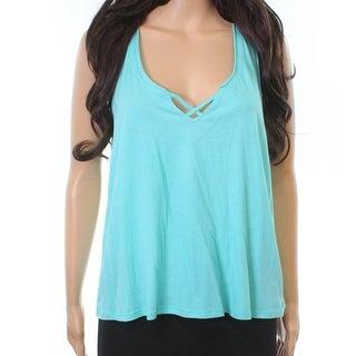 Betsey Johnson Blue Women's Size Small S Cross Front Sleepshirt