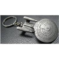 Star Trek Enterprise NCC-1701-D Key Ring - Silver