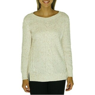 Tommy Hilfiger Cable Knit Long Sleeve Sweater - XL