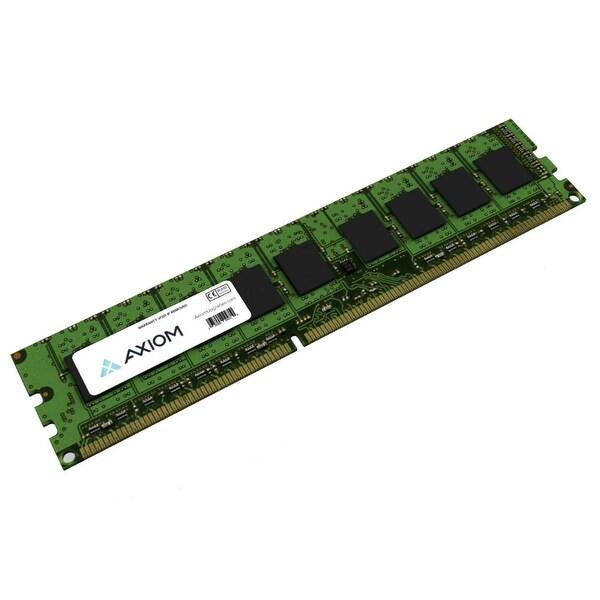 Axion 0B47377-AX Axiom PC3-12800 Unbuffered ECC 1600MHz 4GB ECC Module - 4 GB (1 x 4 GB) - DDR3 SDRAM - 1600 MHz