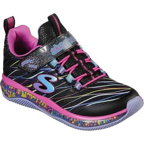 Skechers Girls' Skech-Air Jumpin' Dots Sneaker Black/Multi