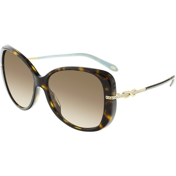 23dcf1161657 Shop Tiffany And Co. Women s TF4126B-81343B-57 Brown Butterfly ...