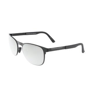 Porsche P8578-E Black Round Sunglasses - 54-20-140