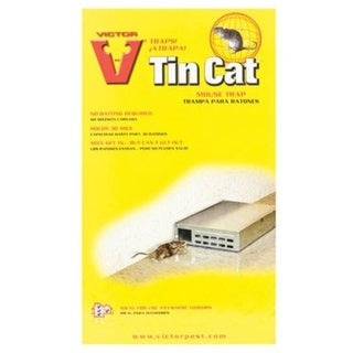 Victor M310 Tin Cat Mouse Trap