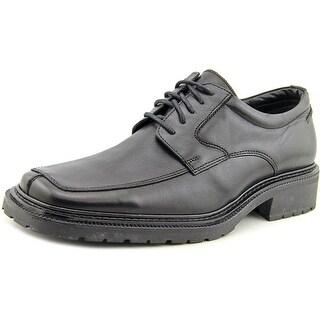 Alfani Capitol Men Square Toe Leather Black Oxford