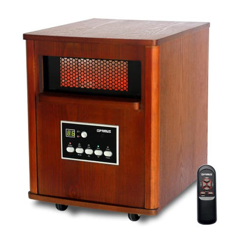 Infrared Quartz Heater With Remote & LED Display
