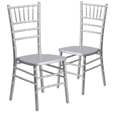 Chiavari Lightweight Wood Chair (Set of 2)