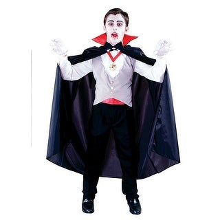 Classic Vampire Child Costume - Black