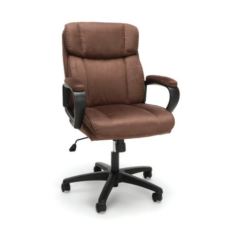 Model ESS-3082 Microfiber Office Chair Essentials By OFM