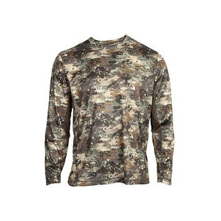 Rocky Outdoor Shirt Mens Long Sleeve Stratum Venator Camo - venator camo
