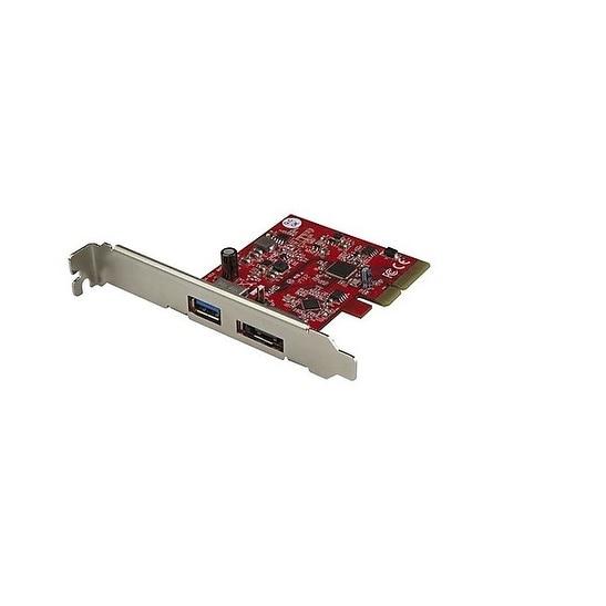 Startech - Pexusb311a1e 2Port Usb 3.1 10Gbps Esatanpcie Card 1X Usb-A & 1X Esata