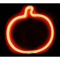"13"" Pumpkin Light Up LED Halloween Decoration"