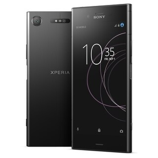 Sony Xpera XZ1 G8432 64GB Unlocked GSM Android Phone w/ 19MP Camera - Black (Certified Refurbished)