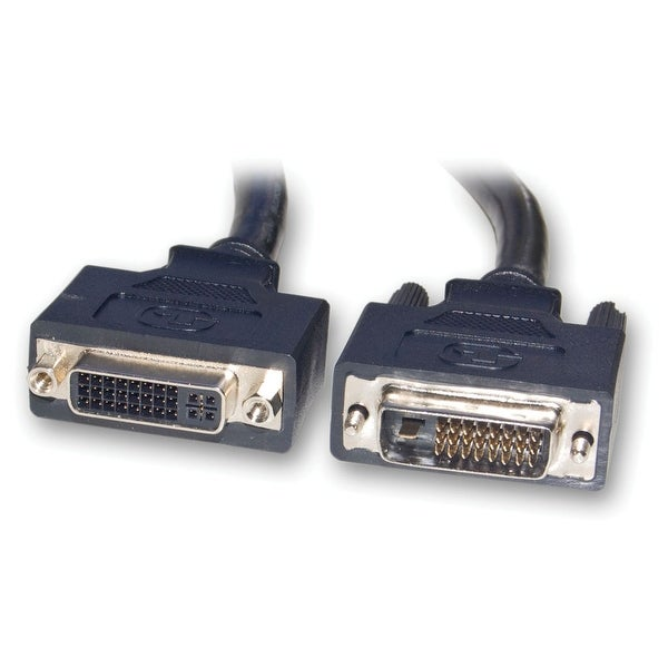 Offex DVI-D Male / DVI-D Female Dual Link Cable, Black, 3 Meter (10 ft)