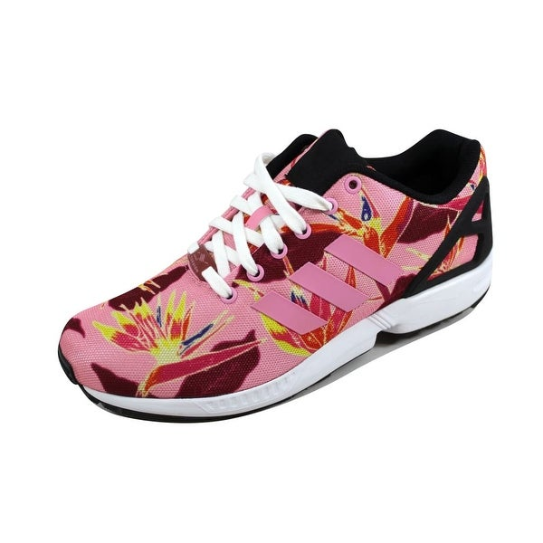 Adidas Men's ZX Flux Light Pink/Light Pink-Black B34520 Size 9