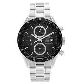 Tag Heuer Men's 'Carrera Lmt Edi' CV2010.BA0794 Stainless Steel Chronograph Link Watch