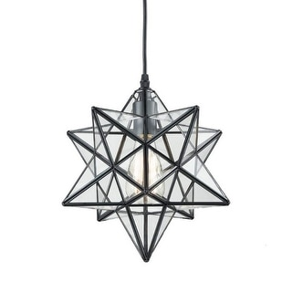 Link to Industrial Moravian star clear glass chandelier,edison pendant light Similar Items in Pendant Lights