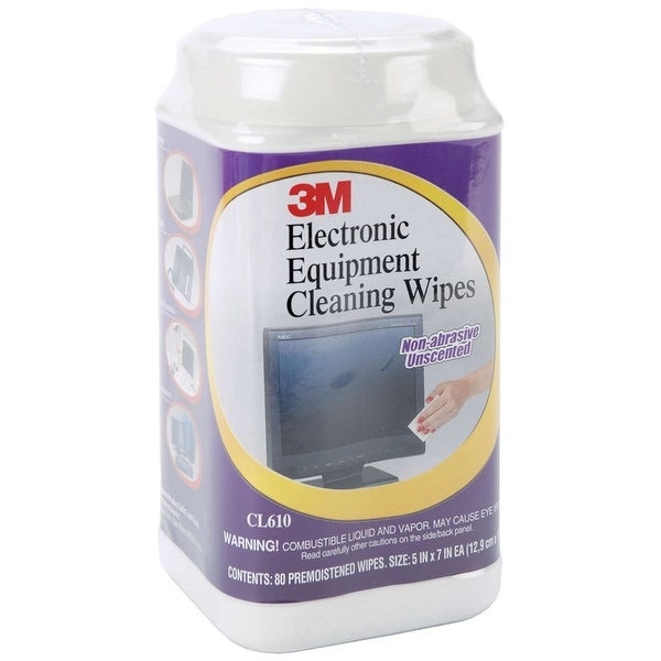 Electronic Equipment Cleaning Wipes 80/Pkg-