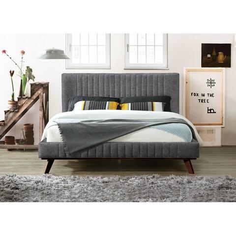 Omax Decor Sven Upholstered Platform Bed - Queen size